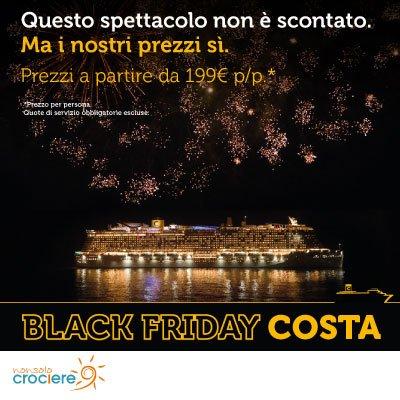 Black Friday Costa Crociere