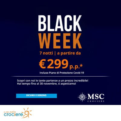 Black Friday MSC CROCIERE