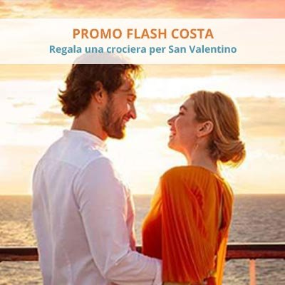 Costa Promo Flash Sale San Valentino