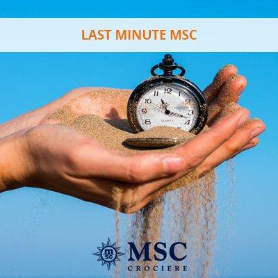 last minute msc special