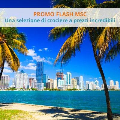 Promo Flash MSC Caraibi e Antille