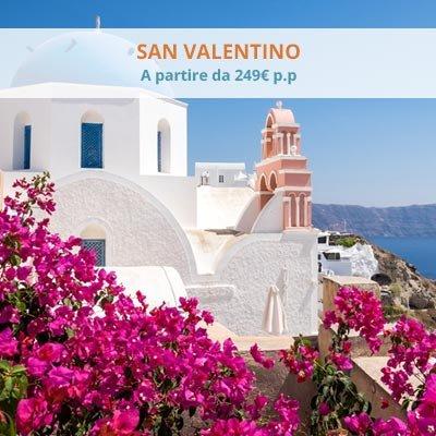 San Valentino a partire da 249 € p.p