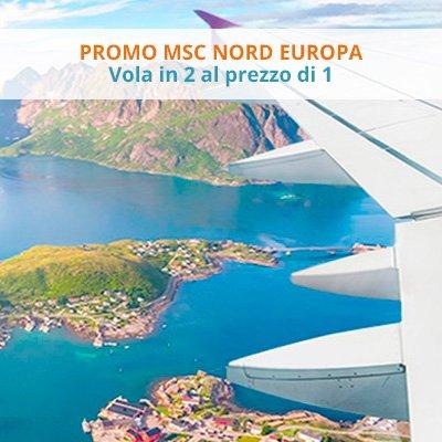 MSC Nord Europa Vola in due al prezzo di uno