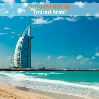 Promo 3 Giorni Free MSC Emirati Arabi